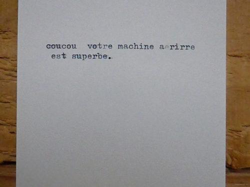Marion Renauld - Geo-machine