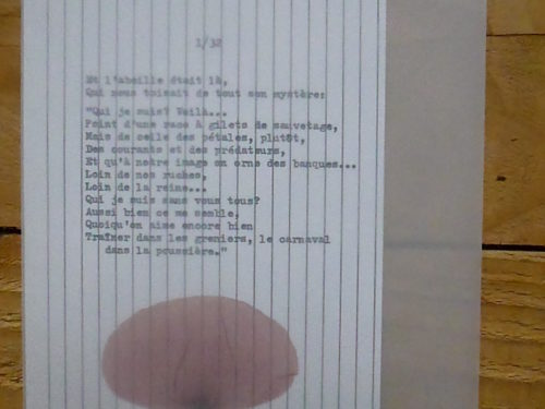 Marion Renauld - Maisons poésie