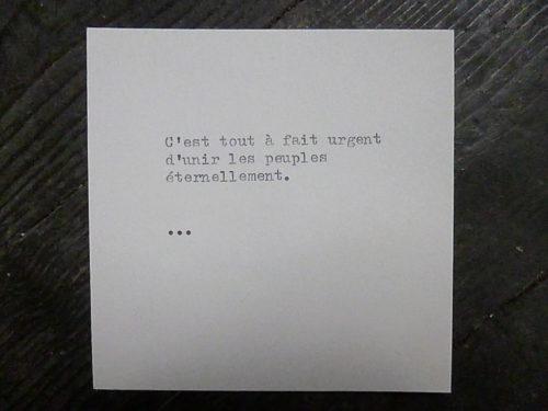 Marion Renauld - Projet