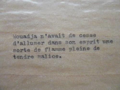 Marion Renauld - Wouadja