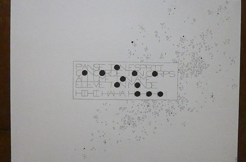 Marion Renauld - Cartons noircis