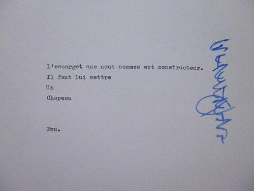 Marion Renauld - Calligratextuel
