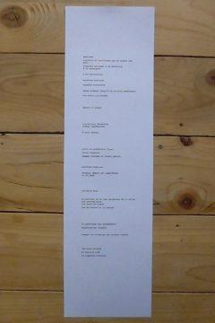 Marion Renauld - Cinq livres & des besoins
