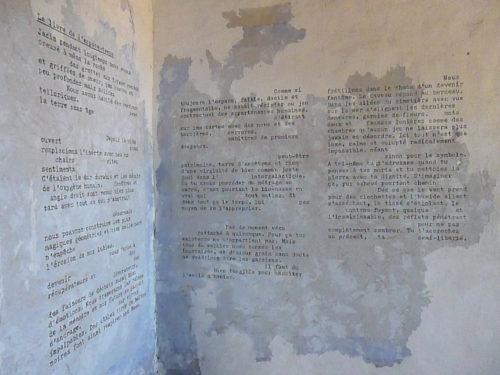 Marion Renauld - Des murs aux livres aux murs