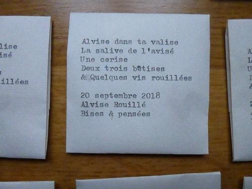 Marion Renauld - Faire part