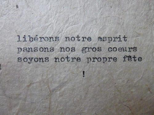 Marion Renauld - Slogan 1