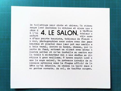 Marion Renauld - le salon